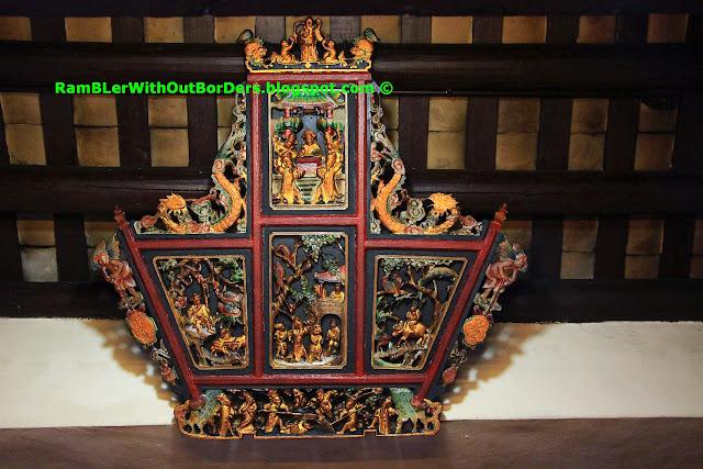 decorative plaque, Kwum Yum Temple, Ap Lei Chau, hong kong