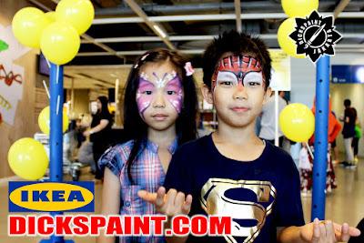 Face Painting Kids IKEA Alam Sutera Tangerang