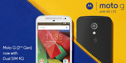 Motorola Moto G Gen 2 4G LTE Variant Launched in India at Rs
