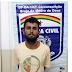 Acusado por tráfico e tentativa de feminicídio é preso em Brejo da Madre de Deus