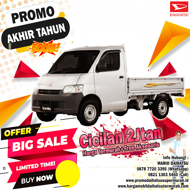 promo daihatsu gran max pick up