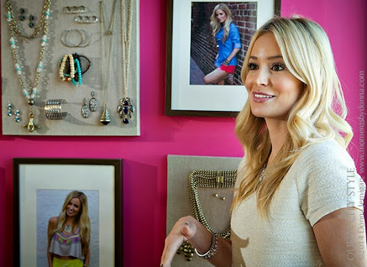 the Queen City Style: Emily Maynard For Towne & Reese At Belk