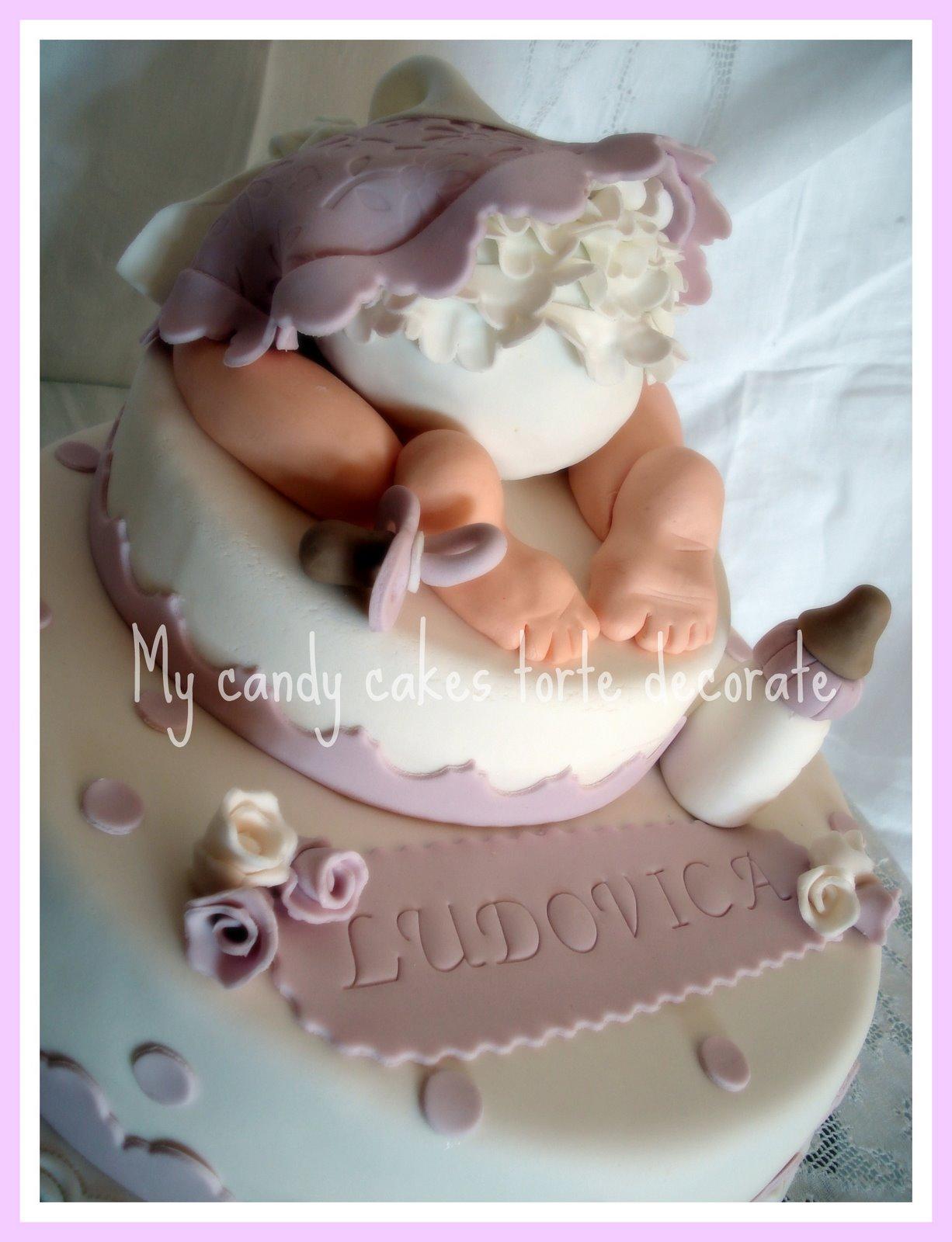 """Famoso my candy cakes: Culotte cake - Torta """" Culotte Bimba"""" ZW05"""