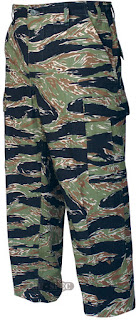 Tru-Spec BDU Pants, Cotton Rip, Original Vietnam Tiger Stripe, Medium, : 1593004