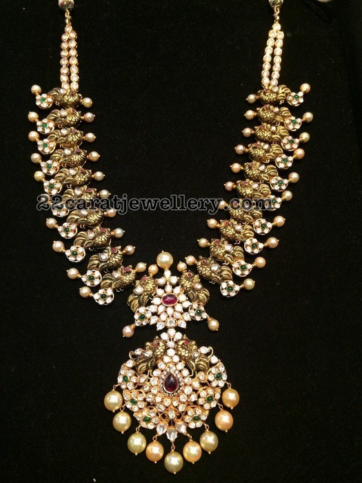 Trendy Mango set pachi Design