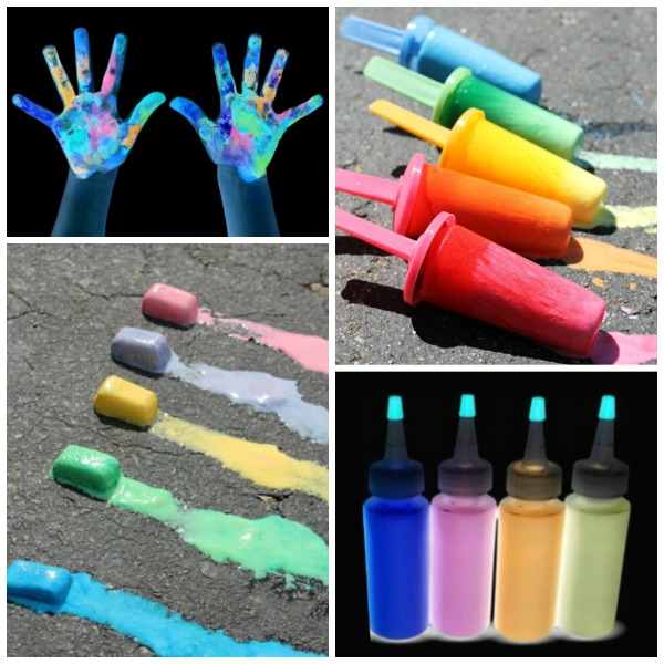 25 SIDEWALK CHALK IDEAS FOR KIDS (Recipes, projects, experiments, & more!) #playrecipesforkids #sidewalkchalkart #sidewalkchalk #sidewalkchalkideas  #chalkpaint #artsandcraftsforkids