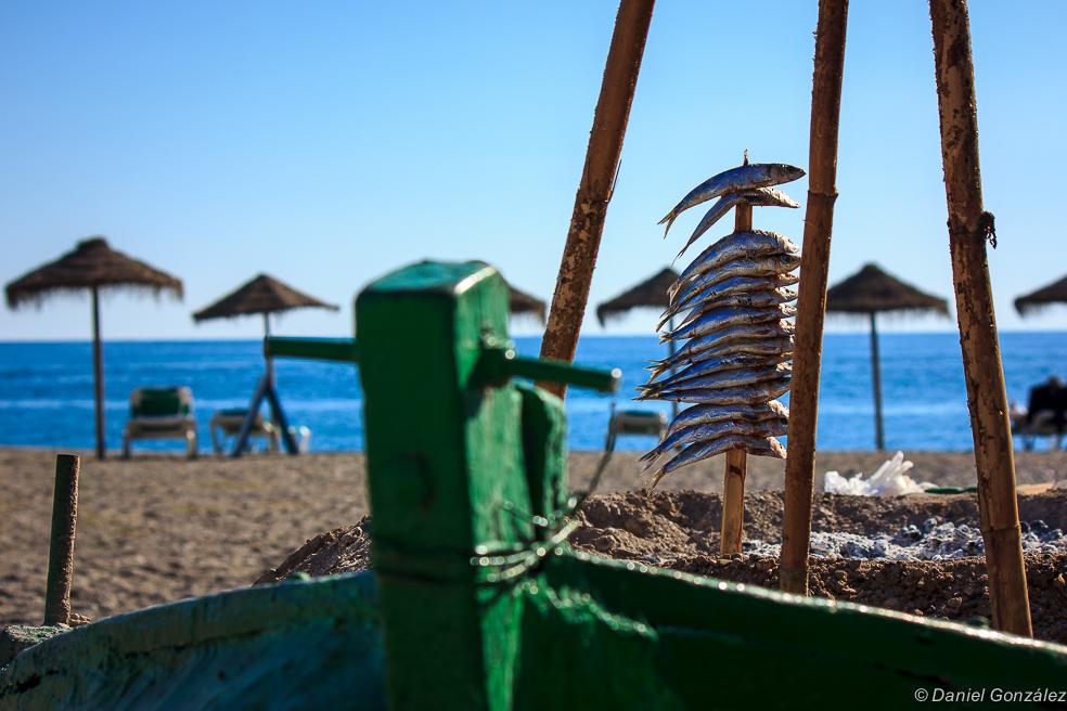 Al rico espeto, Playa de Salobreña, Granada 2013