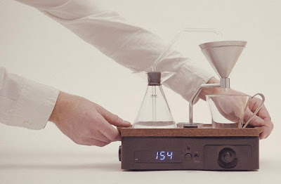 Barisieur designer coffee and tea alarmclock