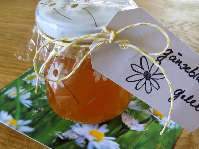 Gänseblümchen-Gelee zu Muttertag