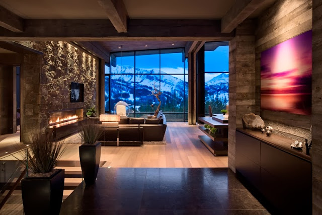 chic mountain house