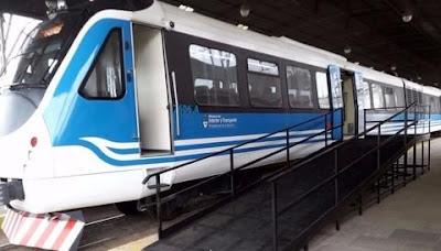 Los nuevos trenes de pasajeros continúan en los galpones