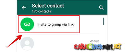Mengundang orang masuk ke grup whatsapp menggunakan link atau tautan