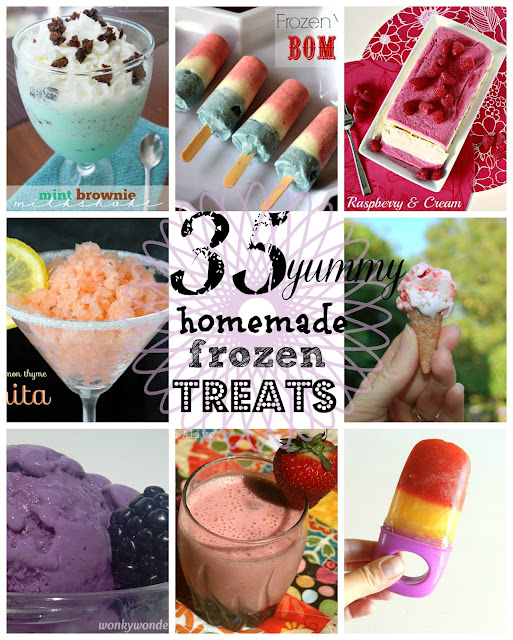 35 frozen treats