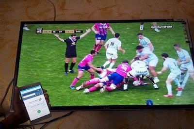طريقة اظهار شاشة الهاتف على التلفاز باستعمال اكثر من تطبيق