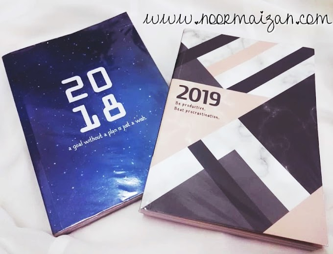 Review Planner 2019 yang Murah dan Colourful