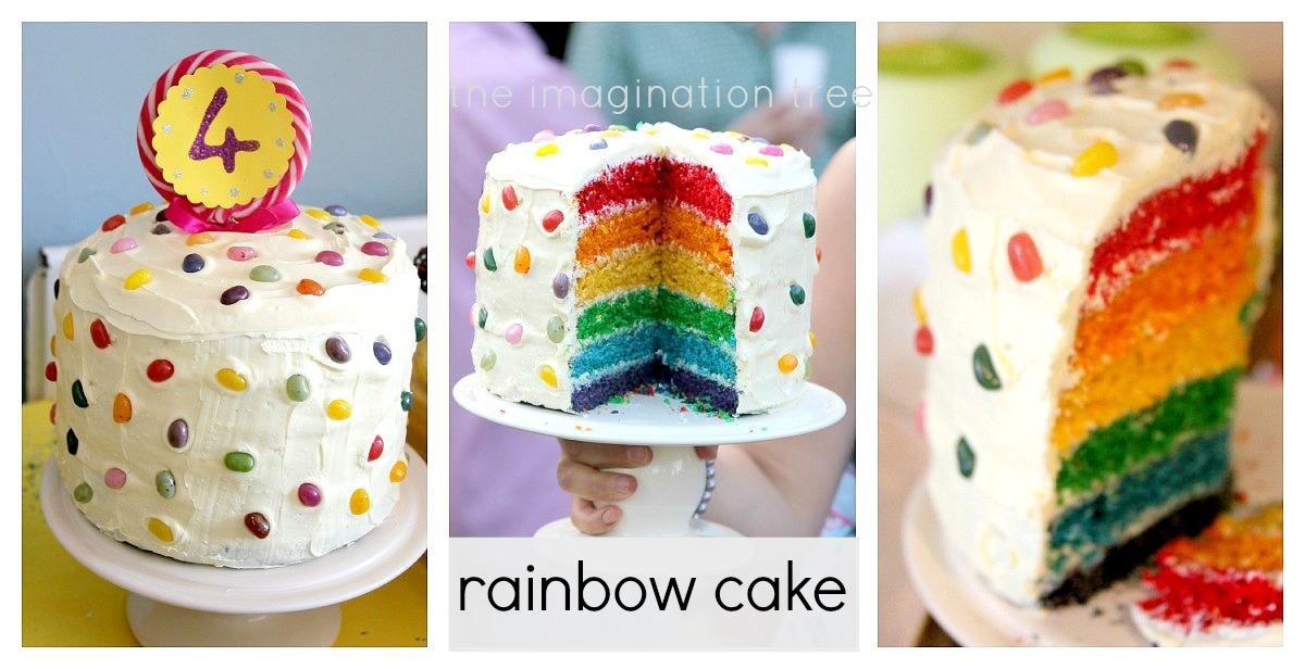 Rainbow Cake Icing Recipe Uk