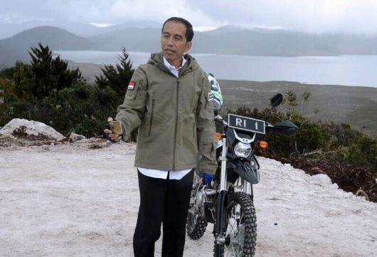 Jokowi: Adanya KKB Tidak Menyurutkan Pemerintah Membangun Papua