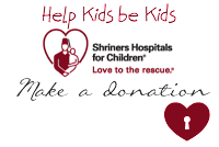 Donate to the Shriner's Hospitals