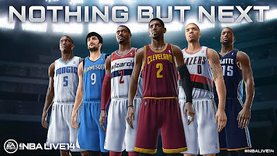 NBA Live 14 PS4 & Xbox One Gameplay Video