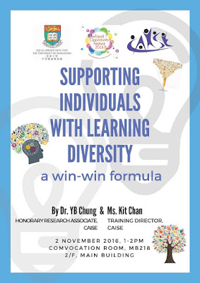 Seminar on Supporting Individuals with Learning Diversity - A WIN-WIN Formula
