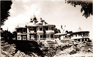 Sailabash, the over-a-century-old summer retreat of the raja of Digapatia