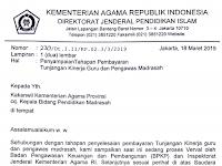 Tunjangan Kinerja Guru dan Dosen Kemenag dibayarkan April 2019?