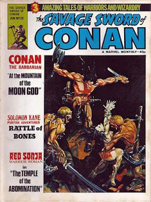 Marvel UK, Savage Sword of Conan #20