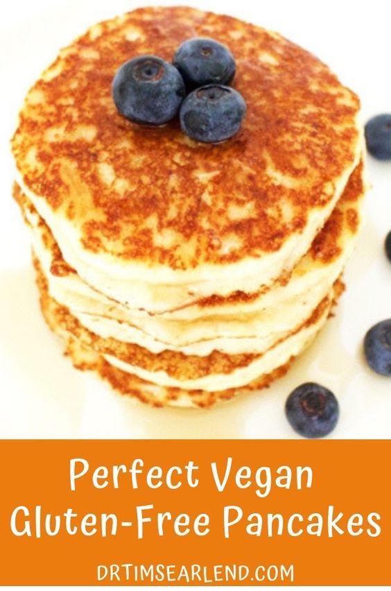 Perfect Vegan Gluten-Free Pancakes