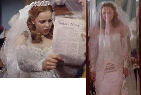 Ella barrett on film fashion march 2016 for The notebook wedding dress