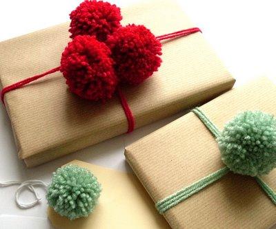 Natural Wood Yarn Ornament Kids Craft Ideas