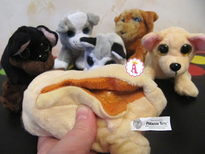 Липучка в игрушке собачке Sweet Pups