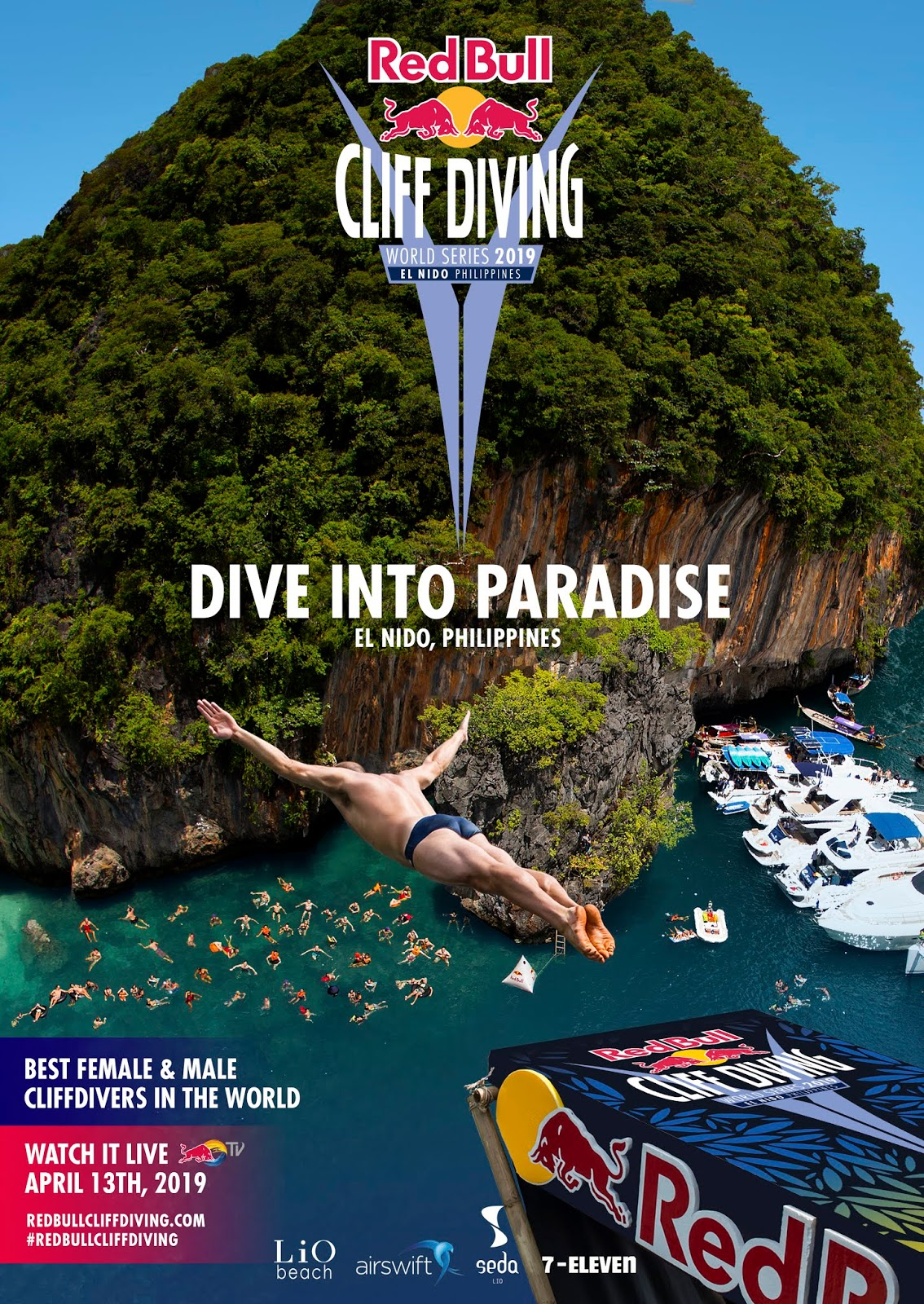 Red Bull Cliff Diving World Series Makes First Ever Philippine Stop to Kick off 11th Season