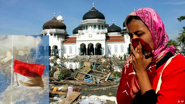 11 Tahun Tsunami, Bendera Merah Putih Berkibar Setengah Tiang