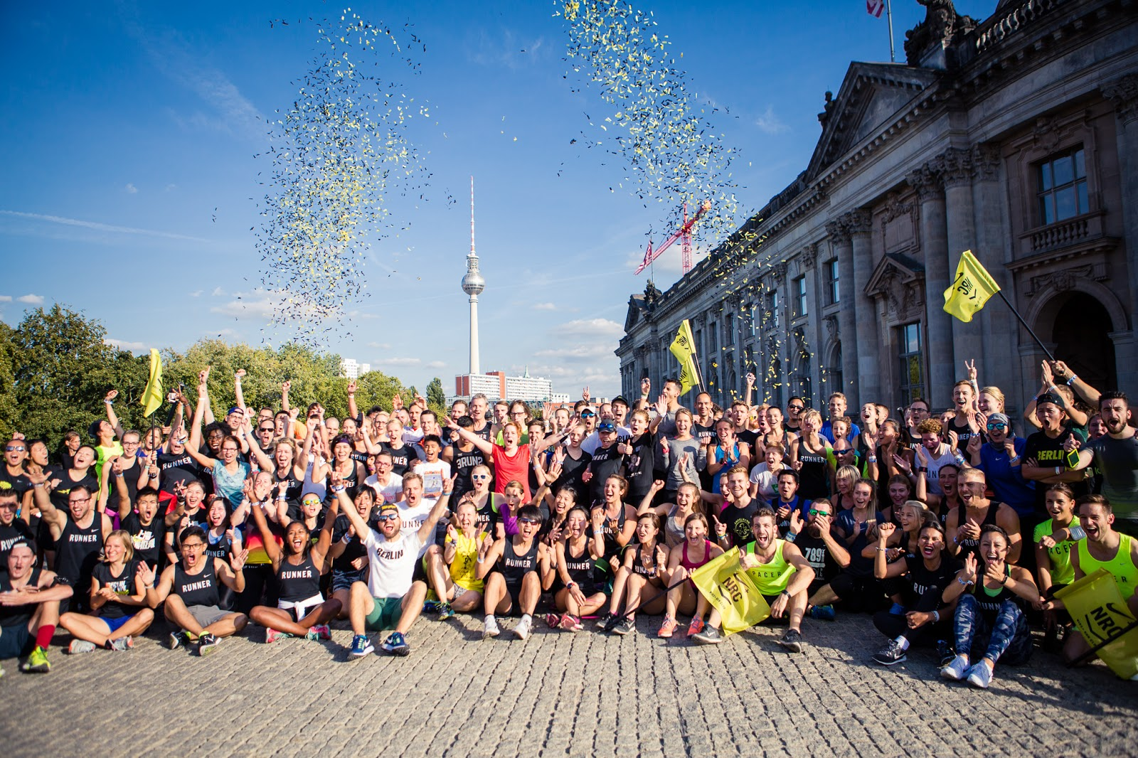NRC Shake Out Run Berlin Marathon