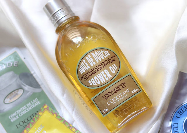 L'Occitane Almond Shower Oil  review, L'Occitane Almond Shower Oil india