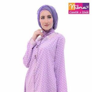 Tunik Nibras Hijab Muslim Ungu