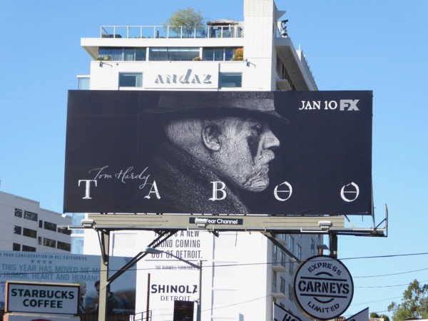 Taboo season 1 billboard