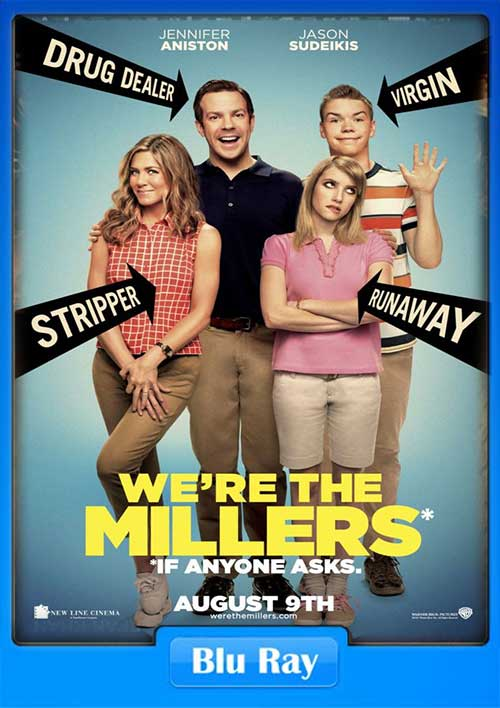 Were the Millers 2013 EXTENDED CUT BRRip 480p 300MB x264 Poster