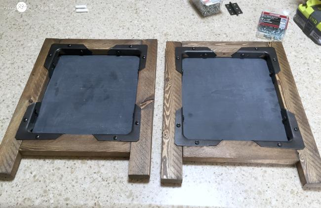 easel frames built