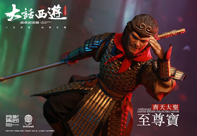 osw.zone INFLAMES 1 / 6. Scale A Chinese Odyssey Zhi Zunbao (Monkey King) 12-inch action figure