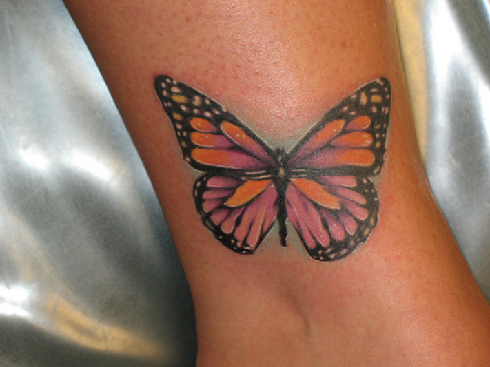 Cool Butterfly Tattoos Design On Wrist For Girls  Zentrader