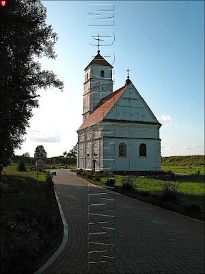 Заславль. Спасо-Преображенская церковь