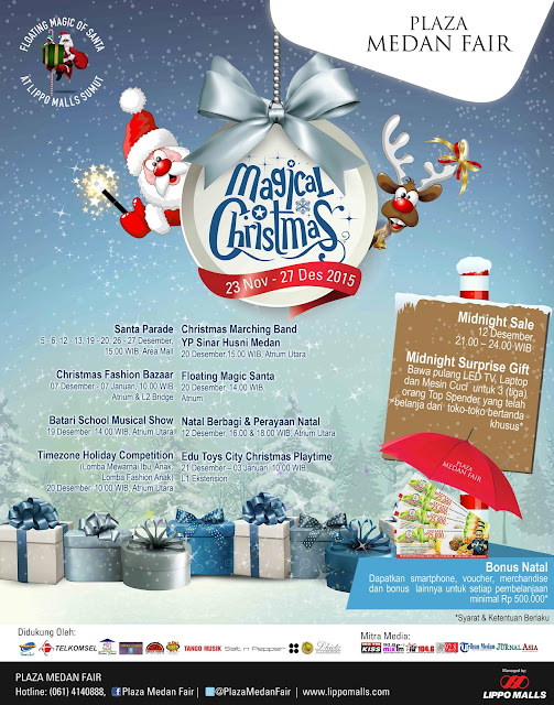 Magical Christmas Di Plaza Medan Fair