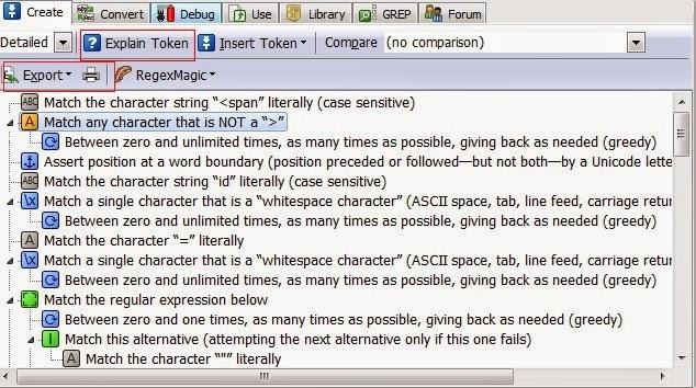 Debugging and Optimizing Regular Expression|Programmer: Lifelong
