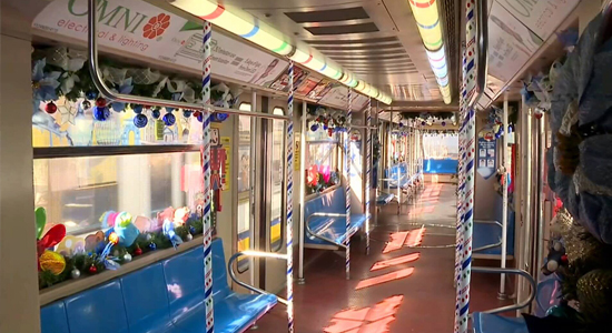 Christmas Train, Light Rail Transit-Line 1.