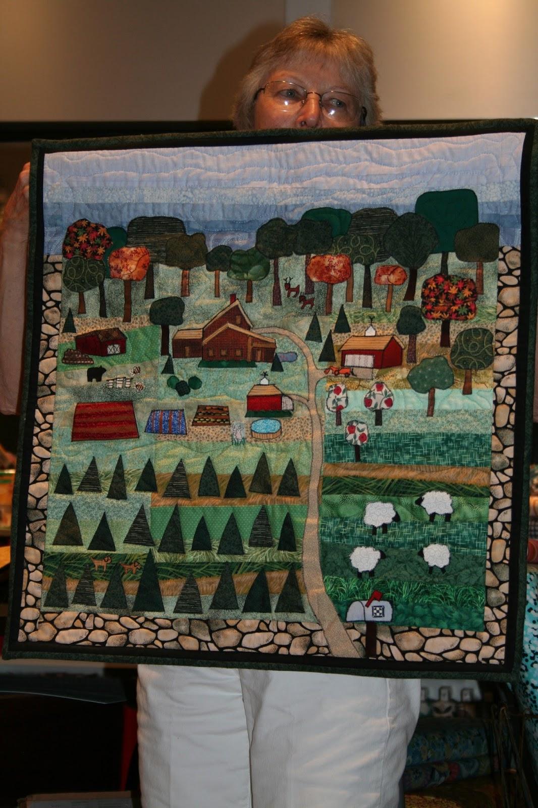 jersey needlework blanket