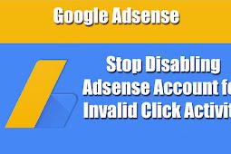 Penyebab Invalid Click Pada Google Adsense terbaru