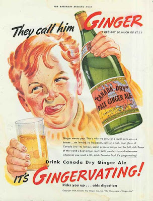 Canada Dry Ginger Ale - It's Gingervating!