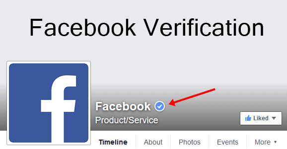 Verify Facebook Profile