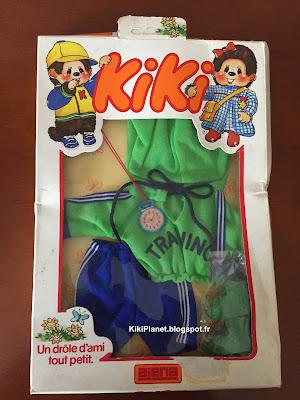 tenue de jogging vintage pour Kiki - neuf et dans sa boite d'origine